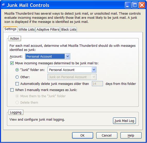 Junk Mail UI Redesign